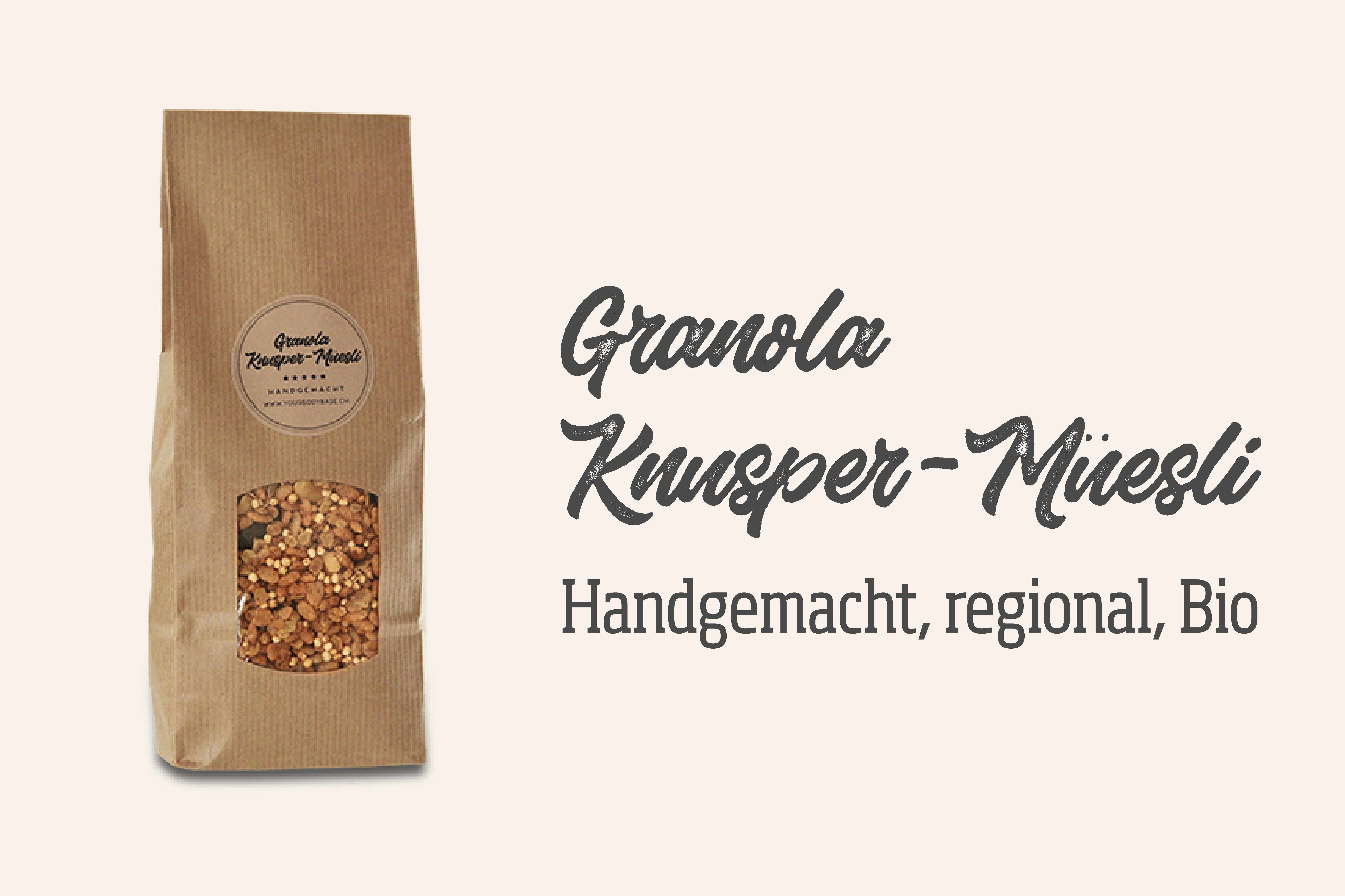 Granola Knusper-Müesli - yourbodybase